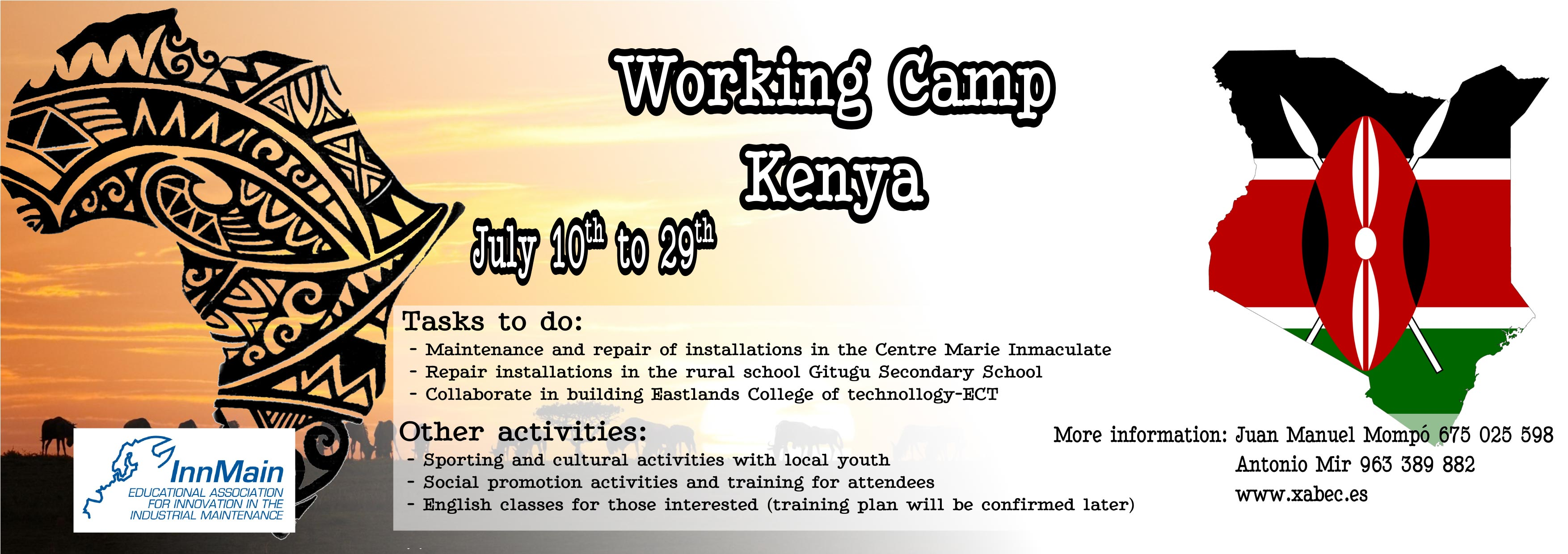 International Work Camp in Kenya